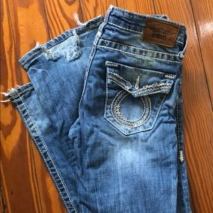 Big Star Jeans LN style missing back buttons